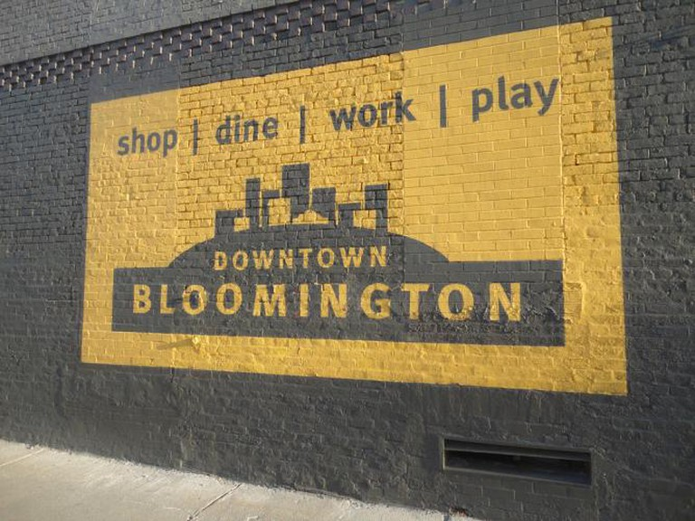 Downtown Bloomington Ad | © Paul Sableman/Flickr