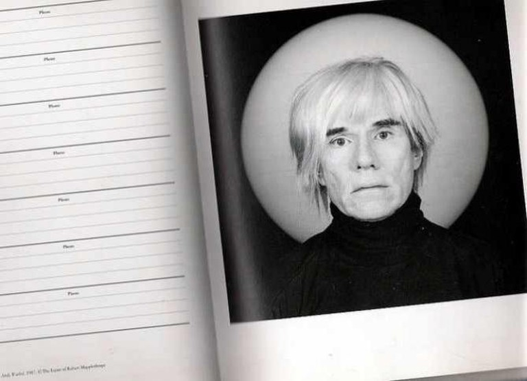 Andy Warhol, 1987 @ The Estate of Robert Mapplethorpe