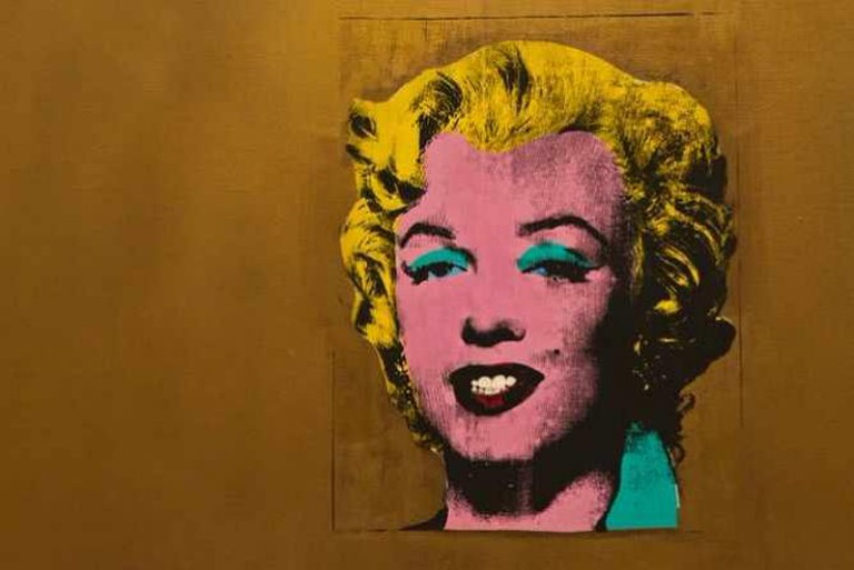 Gold Marilyn – Warhol