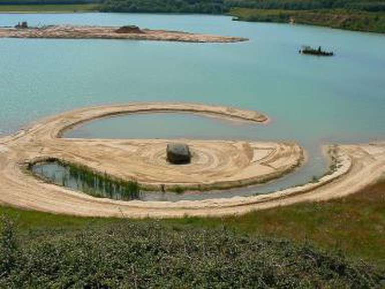Robert Smithson, 'Broken Circle and Spiral Hill'