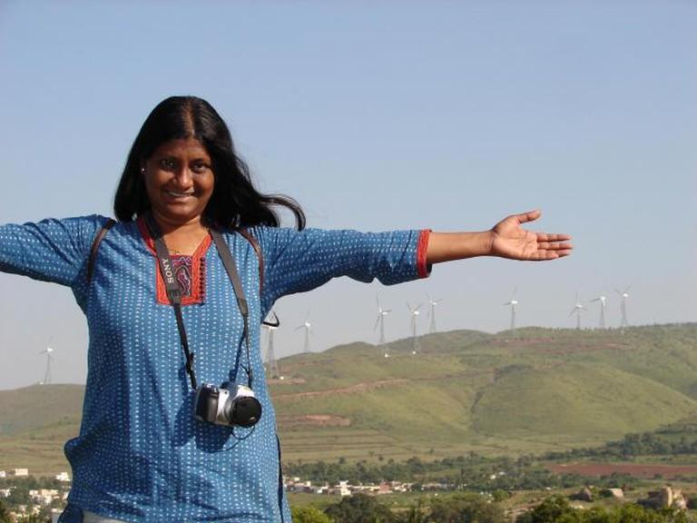 Anu in Chitraduga | Courtesy of Anu Goyal