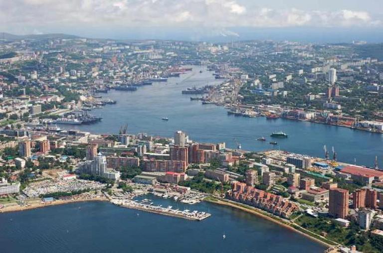 Vladivostok Golden Horn Bay © Vladimir Kobzar'/Wikicommons