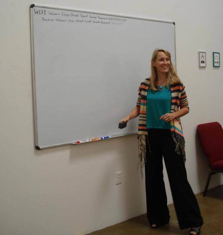 Writespace Director Elizabeth White-Olsen | © Writespace