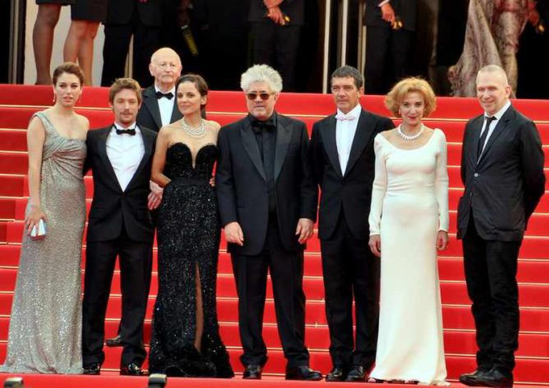 Cast and director of La Piel que habito at the Cannes film festival © George Biard/Wikicommons