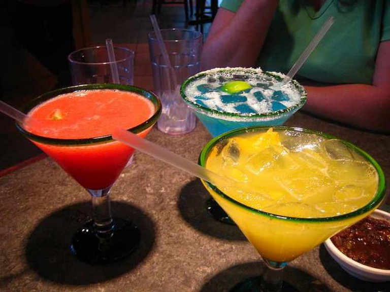 Margaritas at Monroe's