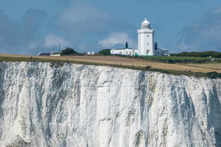 Dover cliffs, South Foreland Lighthouse