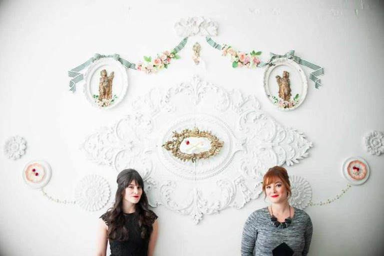 Cindy and Sarah, Sisters & Co-Owners of Bake Shoppe | Courtesy of Bake Shoppe