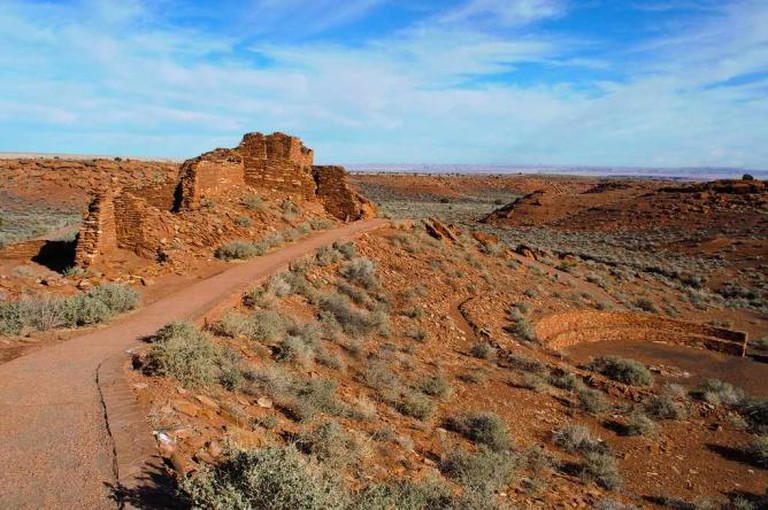 A Creative Commons Image: Ruins at Wupatki National Monument