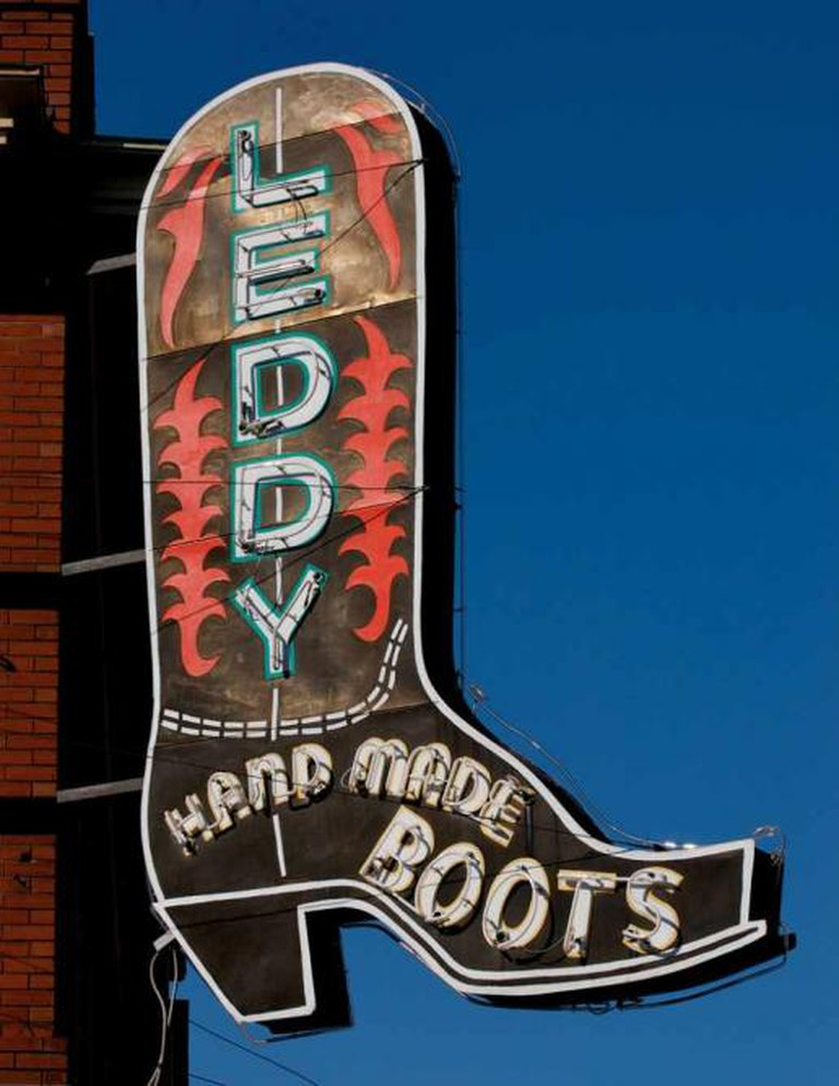 Leddy's Handmade Boots at the Fort Worth Stockyards