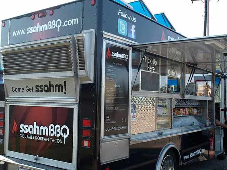 SsahmBBQ foodtruck at Fort Worth