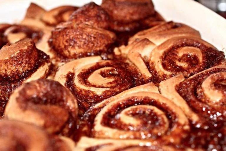 Cinnamon rolls | © Eric Petruno/Wikicommons