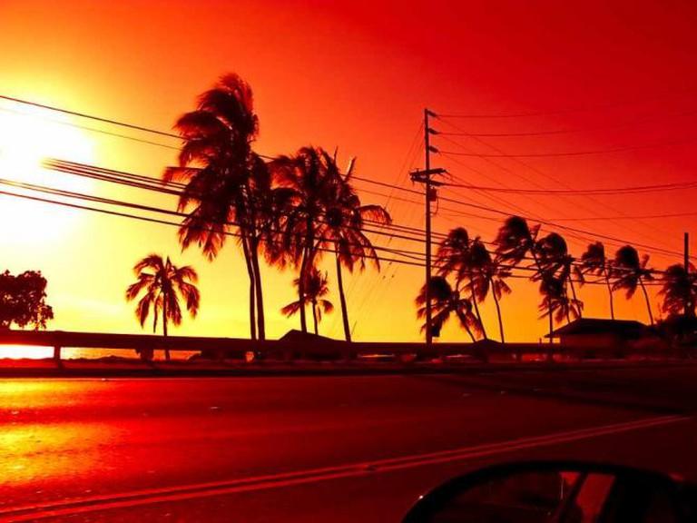 To Kaena Point, Oahu, Hawaii