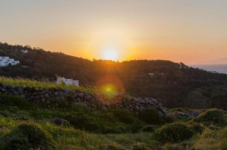 Walking in Patmos