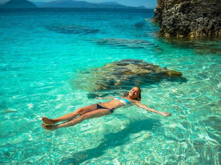 The perfect Grecian sea l
