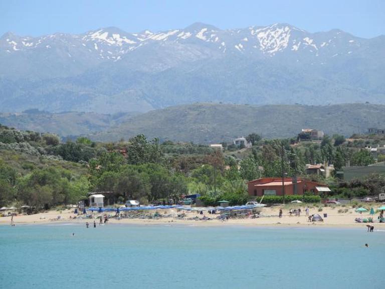 Golden Beach (Chrissi Akti)