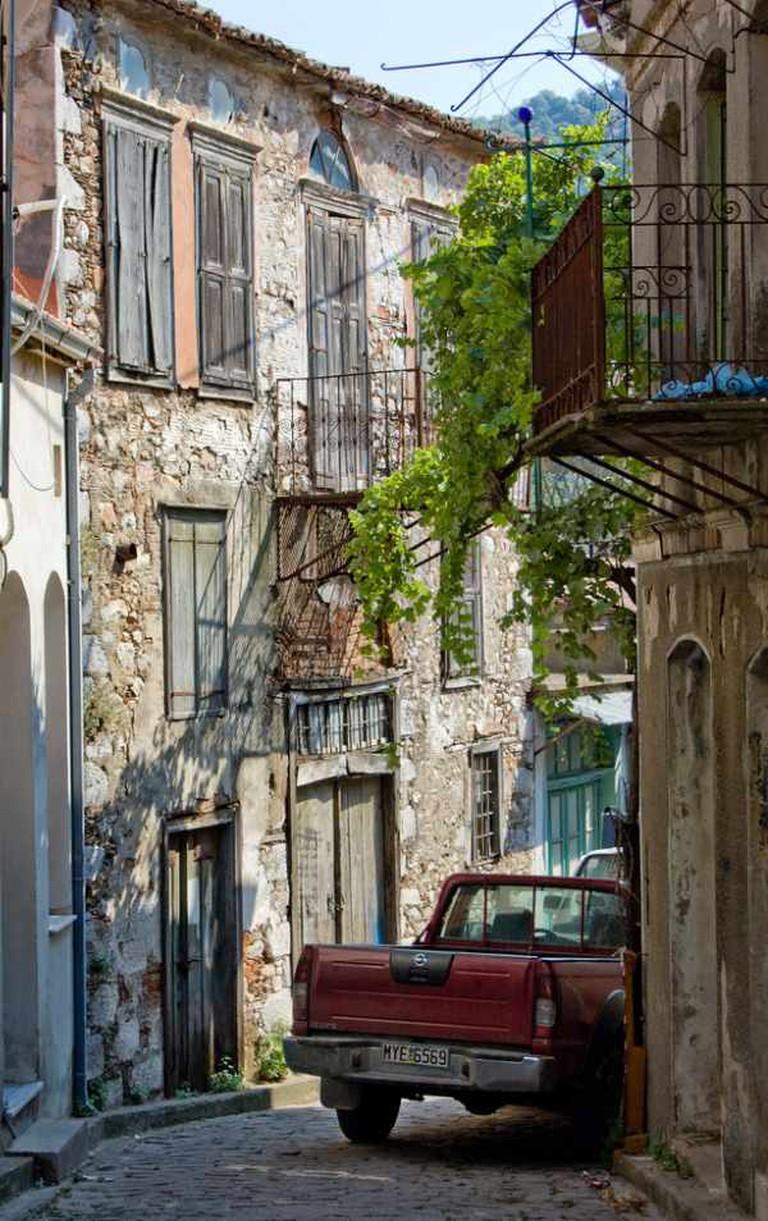 Alley in Agíassos