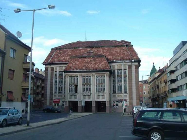 Kiraly street, Szombathely