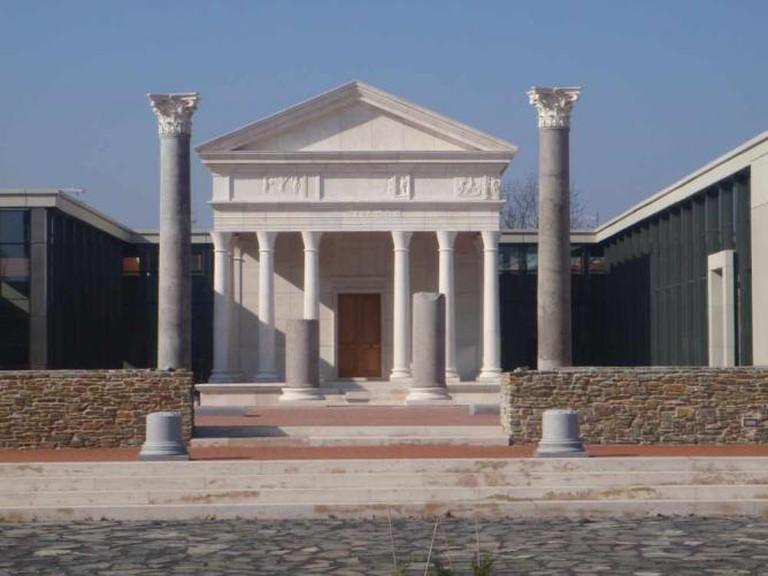Isis-shrine in Szombathely