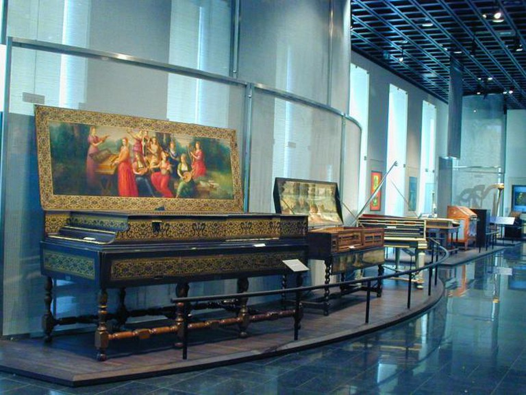 One of the galleries of the museum