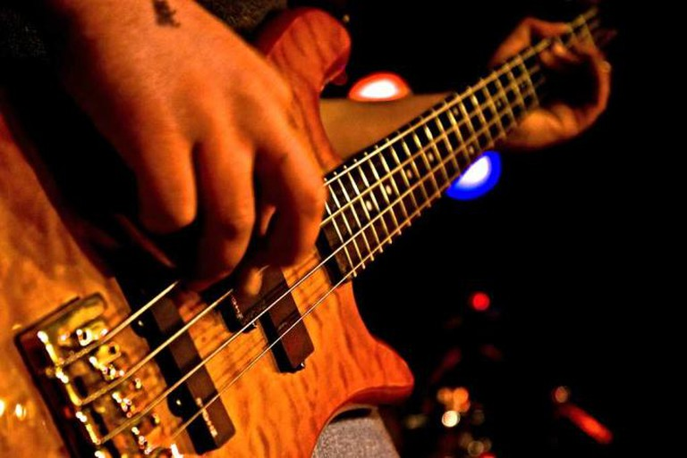 Live rock, jazz and blues is played at DazzleJazzle.