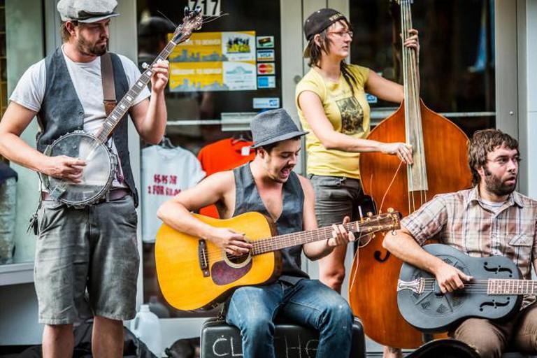 Street Band in Denver I © Thomas Hawk/Flickr
