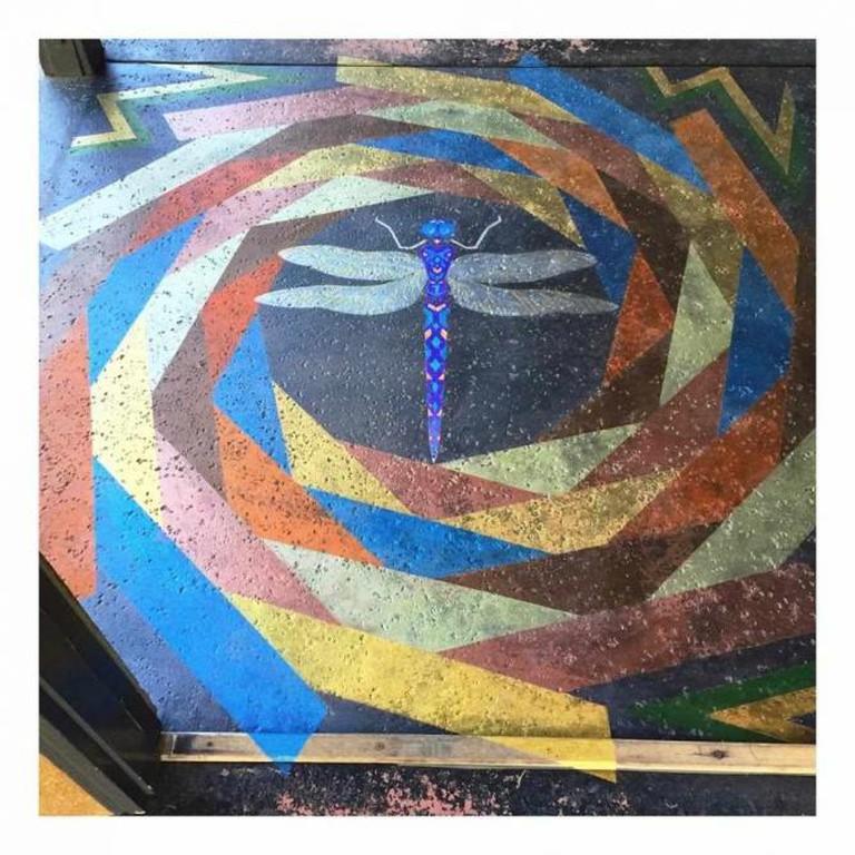 Painted Floor |© Lisa Donohoe & Brynn Gelbard