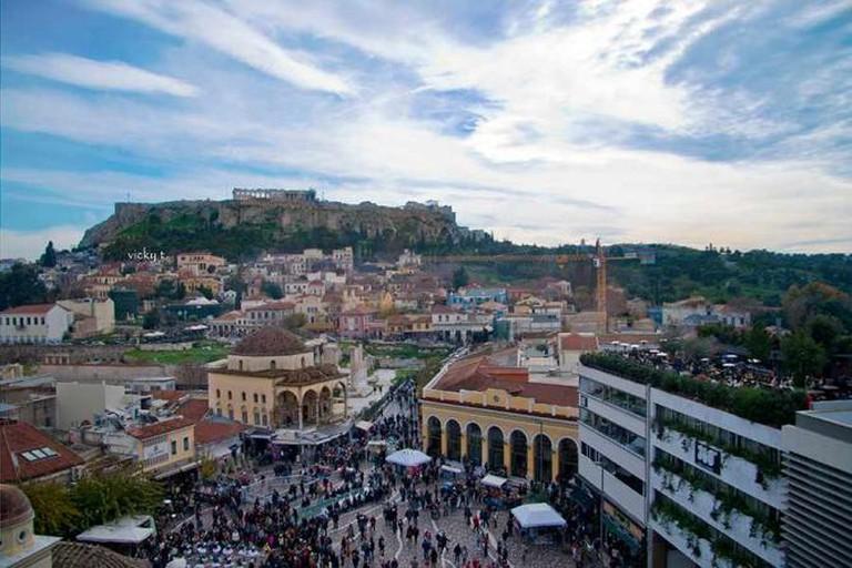 Monastiraki, Athens   © Vicky Tsavdaridou, Flickr