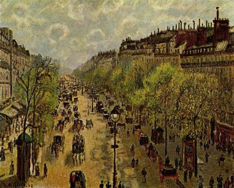 Pissarro, Le Boulevard Montmartre, Matinee de Printemps