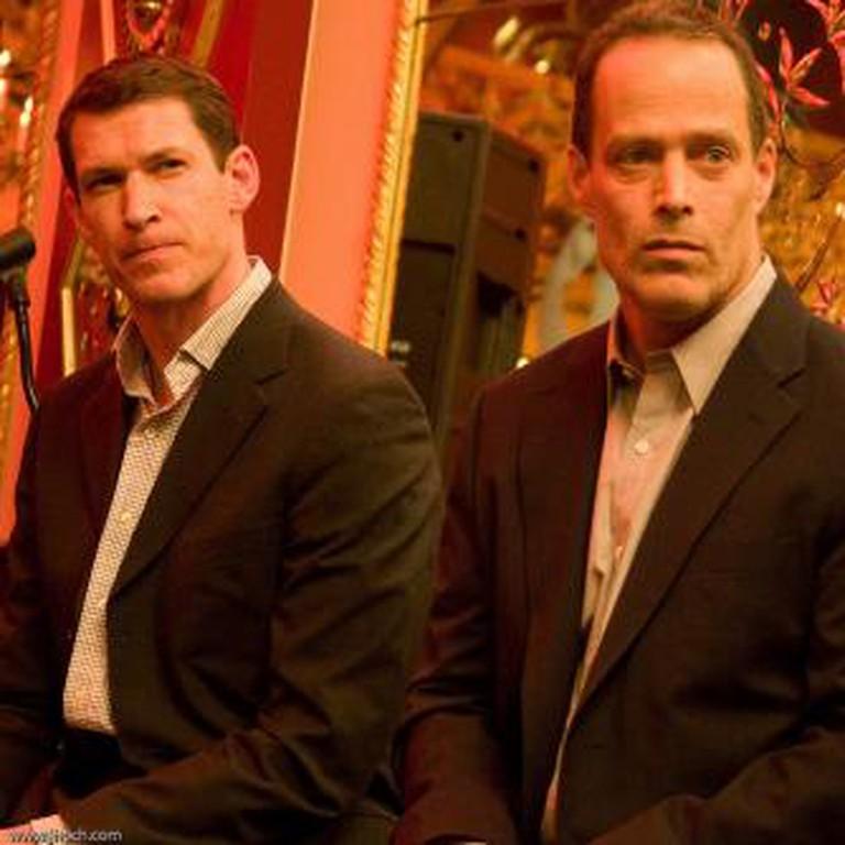 Tim Hetherington and Sebastian Junger