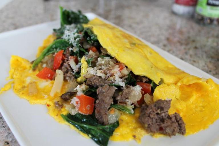 Cheesesteak Omelet