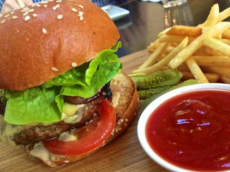 Wagyu beef burger   © Katherine Lim/Flickr