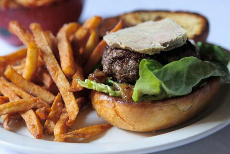Foie gras burger   © Susan Lucas Hoffman/Flickr