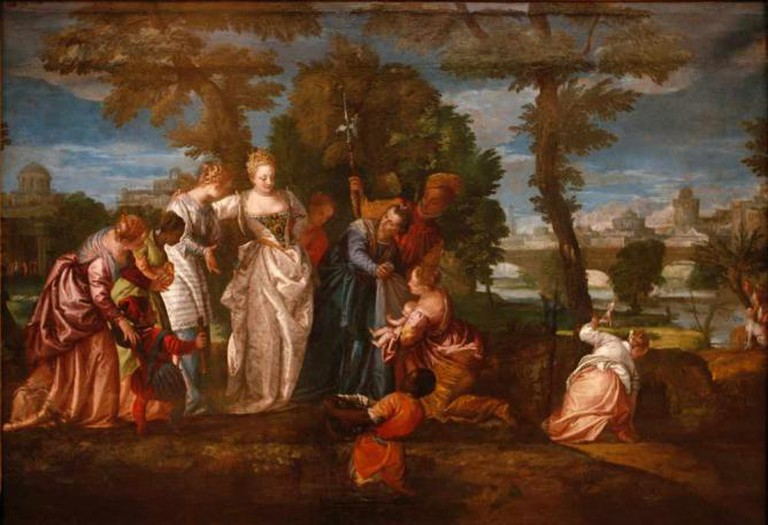 Veronese The finding of Moses | © Rama/Wikicommons