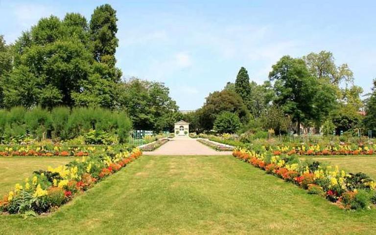 Dijon – Jardin de l'Arquebuse – Jardin botanique