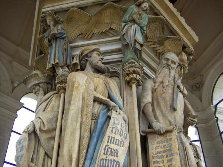 Dijon mosesbrunnen