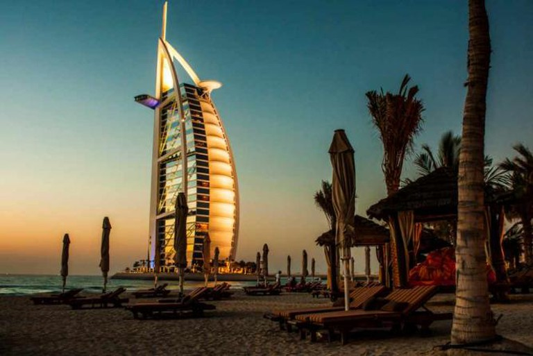 The Burj Al Arab from the beach | © Image Catalog/Flickr