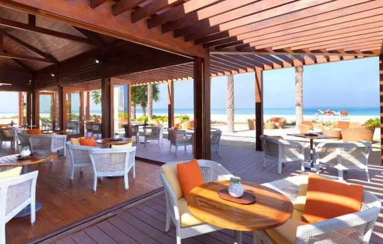 Palm Grill's unbeatable location | Courtesy of Palm Grill
