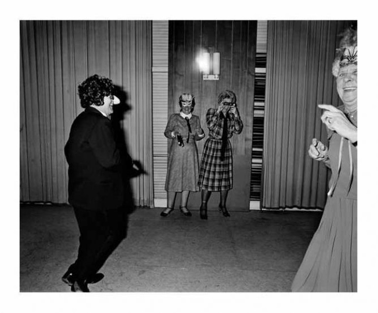 "Ostend, Belgium 1986 Carnival ball ""Bal du Rat Mort"", from EVROPA | © Courtesy of Carl de Keyzer"