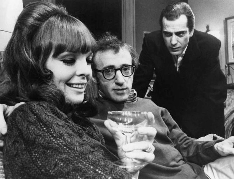 Photo of Diane Keaton, Woody Allen and Jerry Lacy from the Broadway play. Play It Again, Sam. | © Leo Stern/Wikimedia Commons
