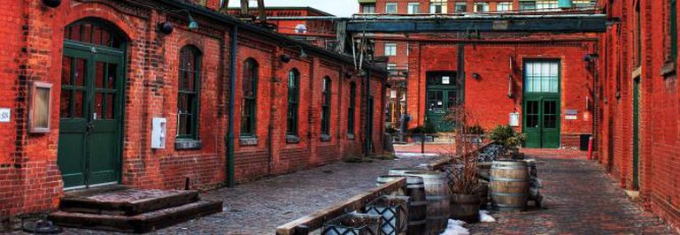 Toronto's Distillery District | © Ryan/Flickr