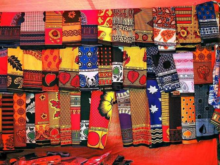 Tanzania (Zanzibar) Khangas-Vibrantly colored East African Cloths | ©  Güldem Üstün/Flickr