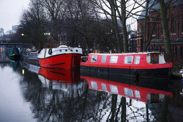 Maida Vale Canal Boats | © Adrian Scottow/Flickr