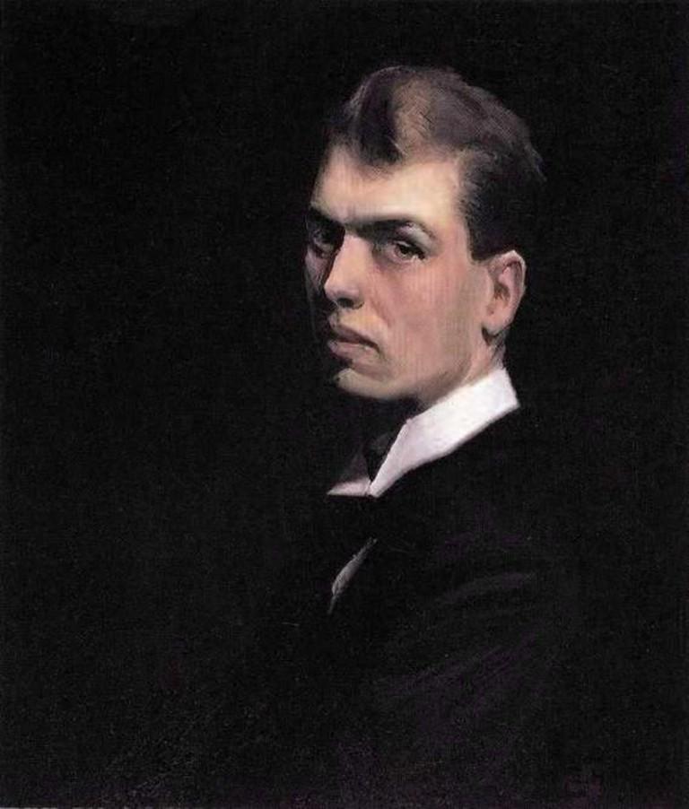 Self Portrait By Edward Hopper | © Edward Hopper/Wikimedia Commons