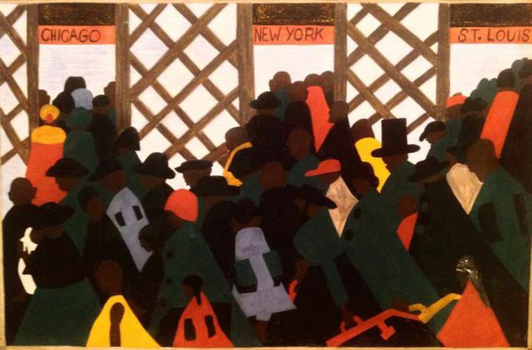 Jacob Lawrence's Great Migration series was amazing | © August Muench/Flickr