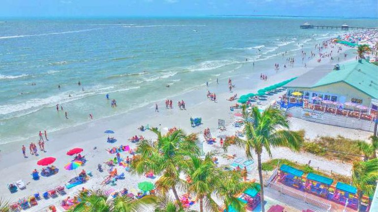 A view of Fort Myers Beach