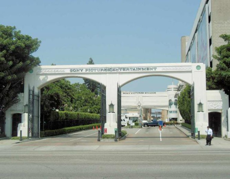 Sony Pictures Entertainment Entrance