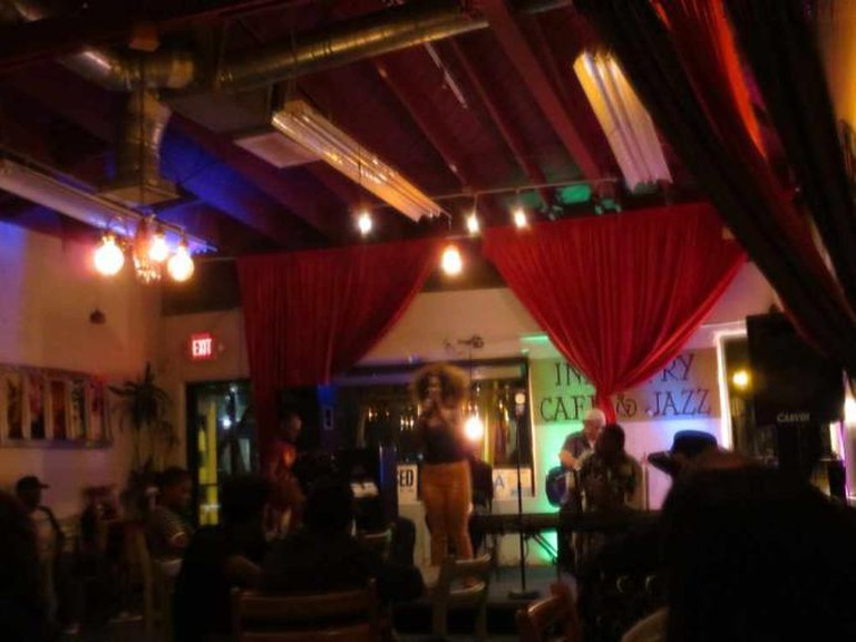 Industry Café and Jazz open mic night