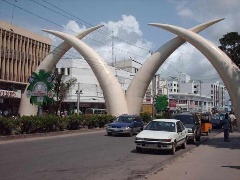 Tusks in Mombasa