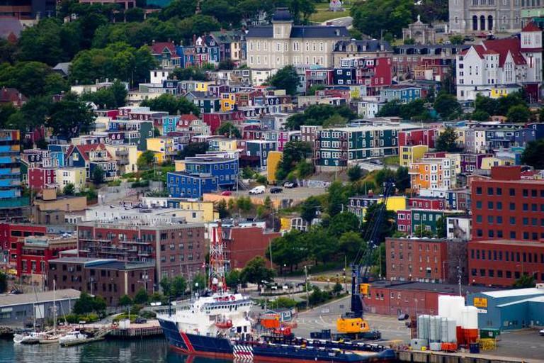 St. John's, Newfoundland and Labrador, Canada   © Kenny Louie/Flickr