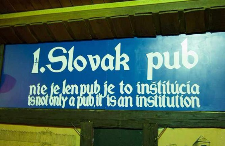 First Slovak Pub's motto